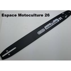 Guide 45cm OREGON Double Guard 91 - PAS 3/8 Lp - Jauge 1,3mm