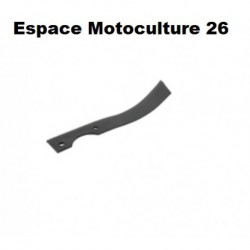 Couteau de fraise 220mm universel gauche pour motobineuse / motoculteur