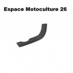 Couteau de fraise 220mm universel droit pour motobineuse / motoculteur