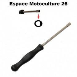 """Tournevis de réglage pour Carburateur """"Simple D"""" Petit modèle ø2,2mm"""