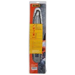 Guide de tronçonneuse 30cm et chaîne 3/8Lp 45E de Marque OZAKI