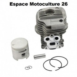 "Cylindre piston ø51mm HUSQVARNA K750 / K760 ""Admission de 25mm"""