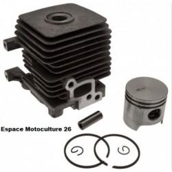 Cylindre piston ø34mm STIHL FS55 - FS38 - FS45 - HS45 - BR45 - SH55