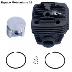 Cylindre piston ø49mm STIHL TS400 - Avec trou de décompresseur