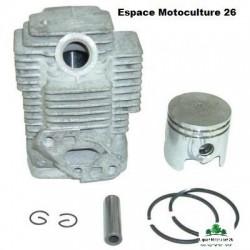 Cylindre piston ø33mm pour Débroussailleuse Mitsubishi TL26 - TU26 ou Chinoise CG260 - BG260 de 26cc