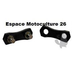 """Kit de 30 maillons de chaîne PAS 3/8"""" - Jauge 063"""" (1,6mm) mâles et femelles"""