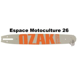 """Guide de tronçonneuse 40cm PAS 325"""" (1,5mm) de Marque OZAKI"""
