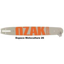 """Guide de tronçonneuse 18"""" (45cm) PAS 3/8 - Jauge .058""""(1,5mm) de Marque OZAKI"""