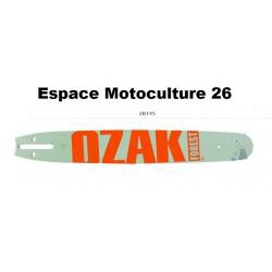 """Guide de tronçonneuse 45cm (18"""") PAS 3/8 Jauge .058""""(1,5mm) de Marque OZAKI"""