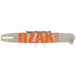 """Guide de tronçonneuse 16"""" (40cm) PAS 3/8 Jauge .063""""(1,6mm) de Marque OZAKI"""