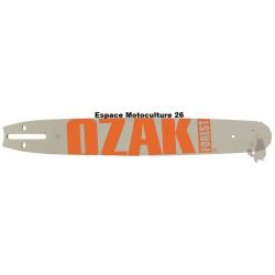 """Guide de tronçonneuse 18"""" (45cm) PAS 3/8 Jauge .063""""(1,6mm) de Marque OZAKI"""