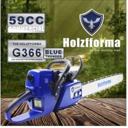 Tronçonneuse thermique HOLZFFORMA G366 - 59cc - 45cm de coupe