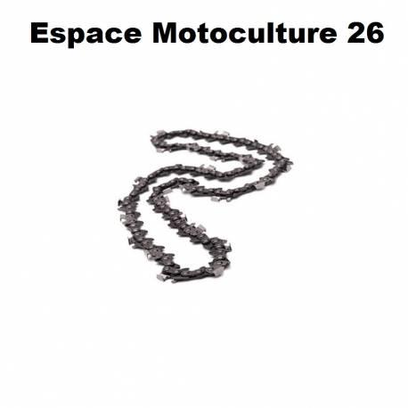 Chaîne de tronçonneuse PAS 3/8 - 1,6mm .063 - 72 entraineurs - Semi-carrée de marque HOLZFFORMA