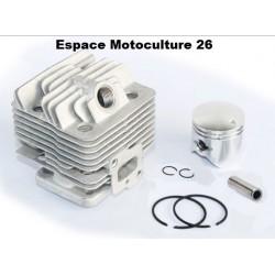 """Cylindre piston ø34mm pour Débroussailleuse Chinoise CG260 """"Moteur 1E34F"""""""