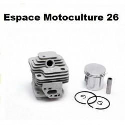 """Cylindre piston ø36mm pour Débroussailleuse Chinoise CG330 - TL33 """"Moteur 1E36F"""""""