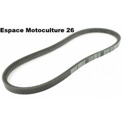 Courroie trapézoïdale crantée série 3L (section 10x6mm) pour découpeuse à béton HUSQVARNA / PARTNER K6500