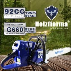 Tronçonneuse thermique HOLZFFORMA G660 - 92cc - 63cm de coupe