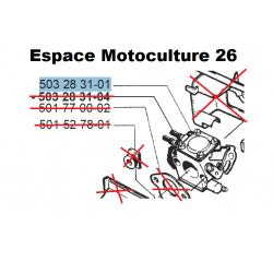 Carburateur d'origine HUSQVARNA 40 - 45 - 49