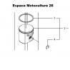 Piston d'origine JONSERED CS2245 - CS2245S