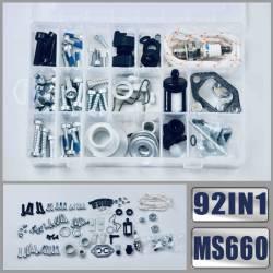 Kit de visserie 92 pce HUSQVARNA 362XP - 365 - 371XP - 372XP