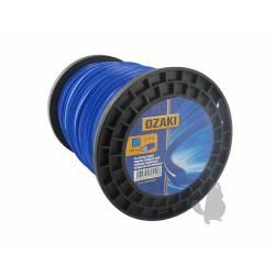 Rouleau de fil nylon carrée 3,30mm - Longueur: 200M de marque OZAKI pour débroussailleuse