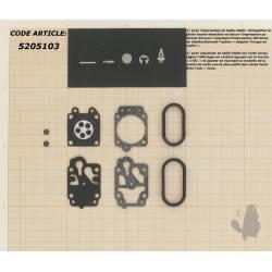 Kit membrane et réparation pour carburateur WALBRO WYA