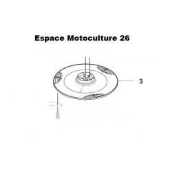 Support lame / Disque de coupe HUSQVARNA 310 - 315