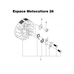 Volant magnétique d'origine HUSQVARNA 235 - 236 - 240