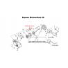 Poulie de lanceur d'origine ECHO CS3000 - CS3400