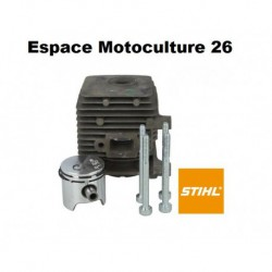 Cylindre piston ø34mm d'origine STIHL FS55 - FS38 - FS45 - HS45 - BR45 - SH55