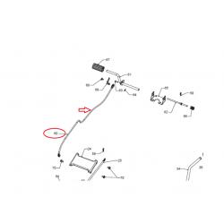 Câble de frein / d'embrayage d'origine McCULLOCH M95-66X et autre ...