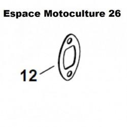 Joint d'échappement (Silencieux) STIHL HS45 - FS38 - FS45 - FS46 - FS55