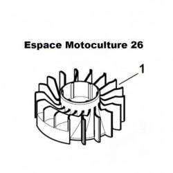 Volant magnétique (Rotor) D'origine STIHL HS45 - FS45 - FS55