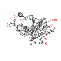 Carter moteur d'origine STIHL MS231 - MS251