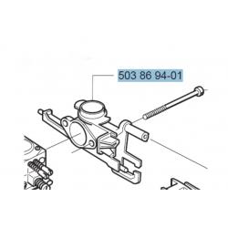Support de filtre à air d'origine HUSQVARNA 340 - 345 - 346XP - 350 - 353