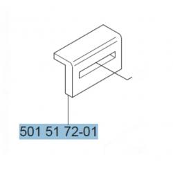 Patin d'origine HUSQVARNA 61 - 254 - 257 - 261 - 262 - 266 - 268 - 272 - 281 - 288 - 362 - 365 - 372