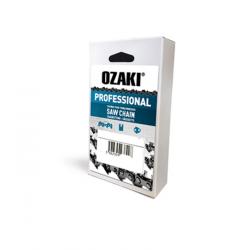 """Chaîne de tronçonneuse carrée PAS 3/8"""" .063 (1,6mm) 66 entraîneurs de marque OZAKI Pro"""