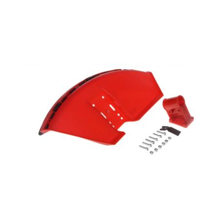 Carter de protection pour débroussailleuse avec tube de 28mm