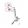 Aérateur de réservoir d'essence d'origine STIHL MS210 - MS230 - MS250 - MS290 - MS310 - MS390 - MS640