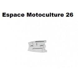 "Plaque de Guidage d'origine ""Gauche"" HUSQVARNA 268 - 272XP"