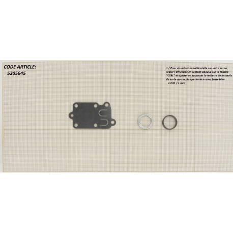 Kit membrane, ressort et joint pour Moteurs BRIGGS & STRATTON 080200, 082200, 090200, 091200, 092200, 092220 ...