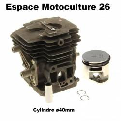 Cylindre piston ø40mm d'origine STIHL FS240 - FS240C - FS260 - FS260C - FS360C - FS410C - FR410C - FR460TC