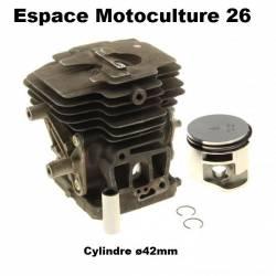 Cylindre piston ø42mm d'origine STIHL FS240 - FS240C - FS260 - FS260C - FS360C - FS410C - FR410C - FR460TC