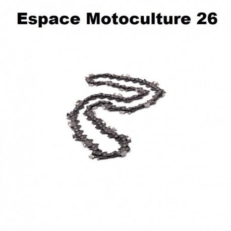 """Chaîne de tronçonneuse semi carrée: PAS.325 .063 (1,6mm) 74 entraîneurs ( E74 ) de marque HOLZFFORMA pour guide de 18"""" (45cm de"""