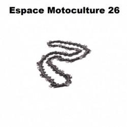 """Chaîne de tronçonneuse semi carrée: PAS.3/8"""" .058 (1,5mm) 72 entraîneurs ( E72 ) de marque HOLZFFORMA pour guide de 20"""" (50cm de"""