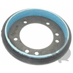 Disque d'embrayage à friction avec bande de frein adaptable SNAPPER