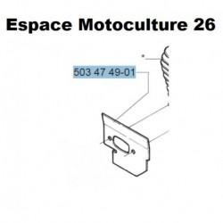 Déflecteur d'origine HUSQVARNA 394XP - 395XP