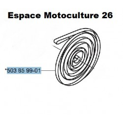 Ressort de rappel de lanceur d'origine HUSQVARNA 340 - 345 - 346XP - 350 - 351 - 353 - 241R - 333R