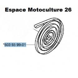 Ressort de rappel de lanceur d'origine HUSQVARNA 340 - 345 - 346XP - 350 - 351 - 353