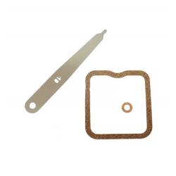 Kit joint + cale / Jeu de pièces de réglage de soupape d'origine STIHL